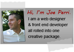 Catholic Web Designer - Joe Perri Bio