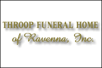 Throop Funeral Home Ravenna