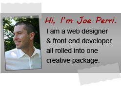 Muskegon Web Designer - Joe Perri Bio